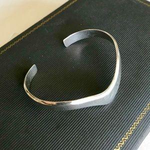 Sterling Vintage Taxco Cuff Bracelet